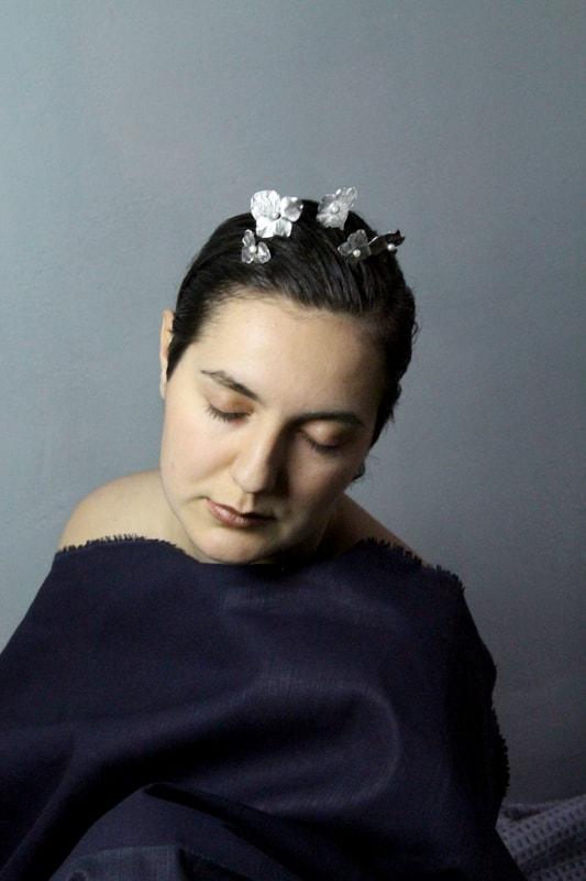 Vlasová sponka Flora